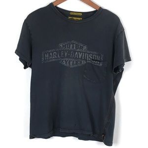 Harley Davidson Trunkd LTD Mens Graphic T-Shirt M